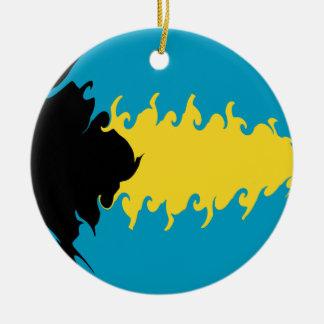 Gnarly Flagge Bahamas Weihnachtsornament