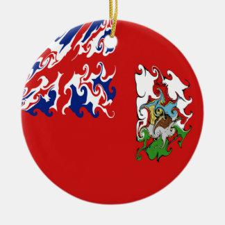 Gnarly Flagge Bermudas Weihnachtsbaum Ornament