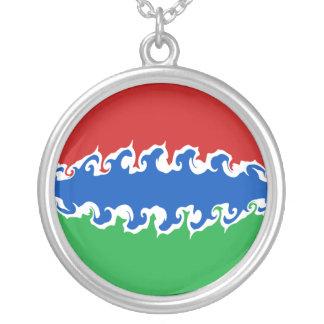 Gnarly Flagge Gambias Amuletten