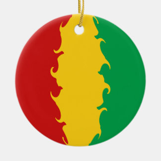 Gnarly Flagge Guinea-Conakrys Weihnachtsornament