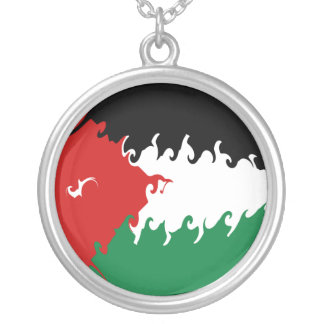 Gnarly Flagge Jordaniens Schmuck