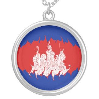 Gnarly Flagge Kambodschas Amuletten