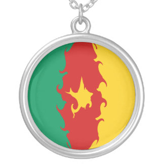 Gnarly Flagge Kameruns Selbst Gestaltete Halskette