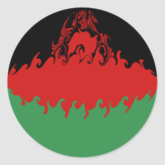 Gnarly Flagge Malawis Stickers