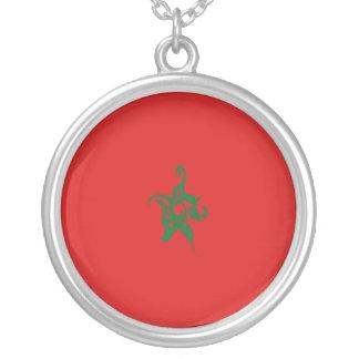 Gnarly Flagge Marokkos Halsketten