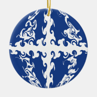 Gnarly Flagge Martiniques Ornament