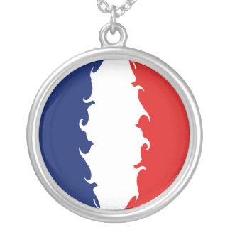 Gnarly Flagge Mayotten Halskette Mit Rundem Anhänger