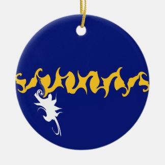Gnarly Flagge Naurus Ornament