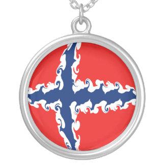 Gnarly Flagge Norwegens Halsketten