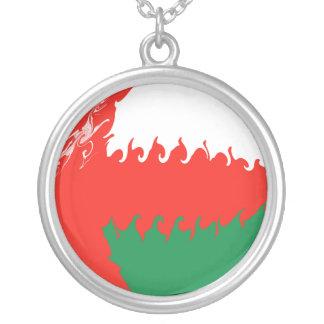 Gnarly Flagge Omans Selbst Gestalteter Schmuck