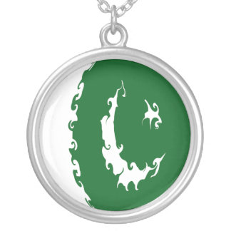 Gnarly Flagge Pakistans Halskette Mit Rundem Anhänger