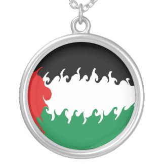 Gnarly Flagge Palästinas Amulett
