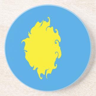 Gnarly Flagge Palaus Bierdeckel
