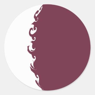 Gnarly Flagge Qatars Aufkleber