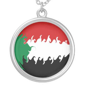 Gnarly Flagge Sudans Amulett
