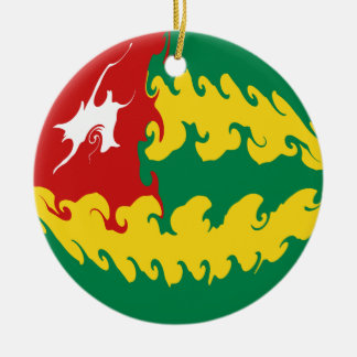 Gnarly Flagge Togos Ornament