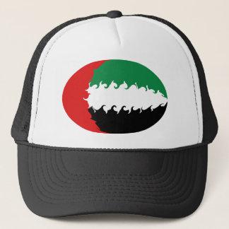 Gnarly Flaggen-Hut Arabische Emirates Truckerkappe