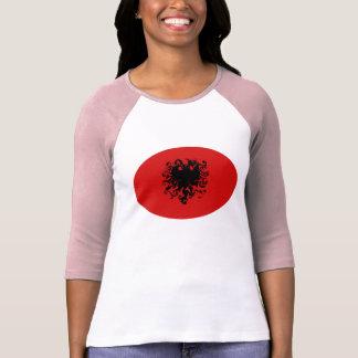 Gnarly Flaggen-T - Shirt Albaniens