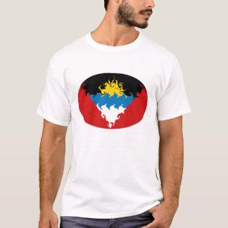 Gnarly Flaggen-T - Shirt Antiguas u. Barbuda
