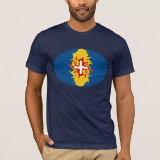 Gnarly Flaggen-T - Shirt Madeiras