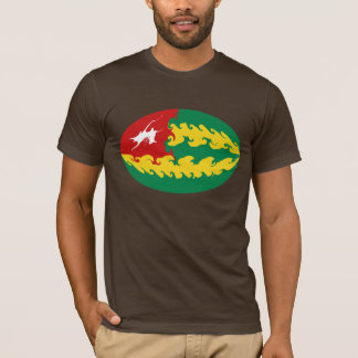 Gnarly Flaggen-T - Shirt Togos