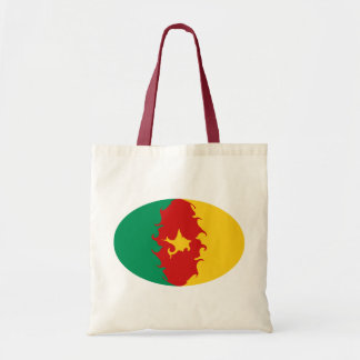 Gnarly Flaggen-Tasche Kameruns Budget Stoffbeutel