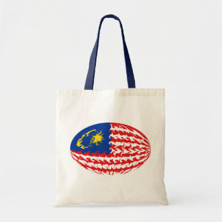 Gnarly Flaggen-Tasche Malaysias Budget Stoffbeutel