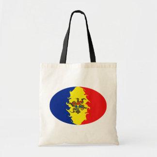 Gnarly Flaggen-Tasche Moldau Budget Stoffbeutel