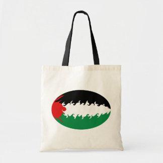 Gnarly Flaggen-Tasche Palästinas Budget Stoffbeutel