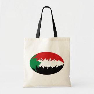 Gnarly Flaggen-Tasche Sudans Budget Stoffbeutel