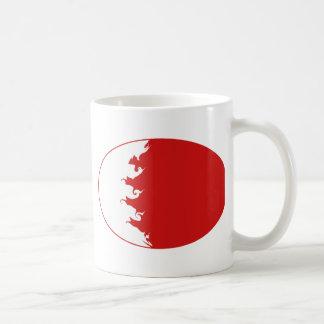 Gnarly Flaggen-Tasse Bahrains