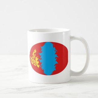 Gnarly Flaggen-Tasse Mongolei