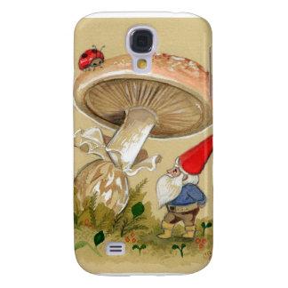 Gnome finden einen Marienkäfer und einen Pilz Galaxy S4 Hülle