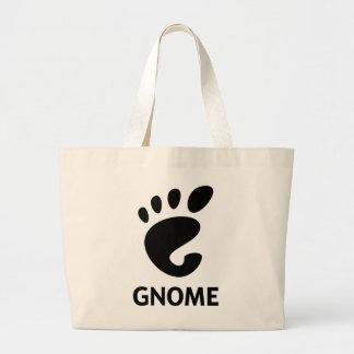 GNOME Logo Jumbo Stoffbeutel