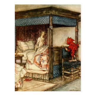 Gnome-Überraschung durch Arthur Rackham Postkarte