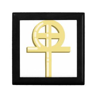 Gnostic Kreuz Schmuckschachtel