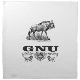 Gnu-Power Stoffserviette