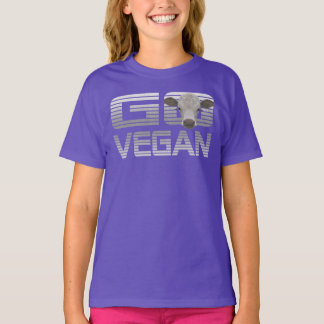 GO VEGAN CALF -02k T-Shirt