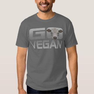 GO VEGAN CALF -02m Tshirts