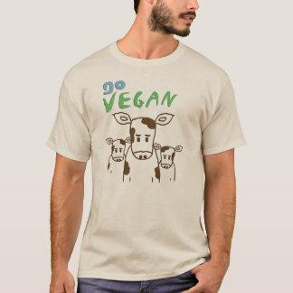 GO VEGAN - Kälber 02 T-Shirt