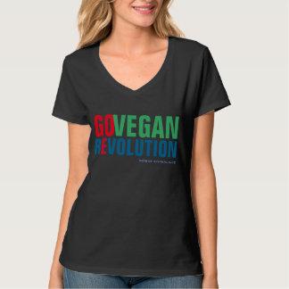 GO VEGAN REVOLUTION -02w Hemden
