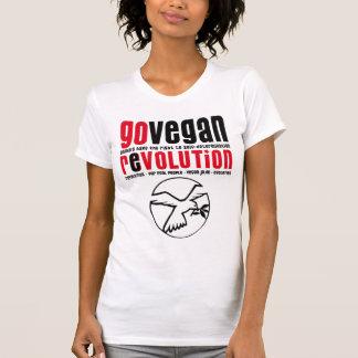 GO VEGAN REVOLUTION -06w Tshirts