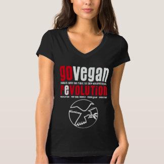 GO VEGAN REVOLUTION -07w T-Shirt