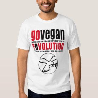 GO VEGAN REVOLUTION -09m Hemden
