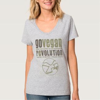 GO VEGAN REVOLUTION -13w Hemden