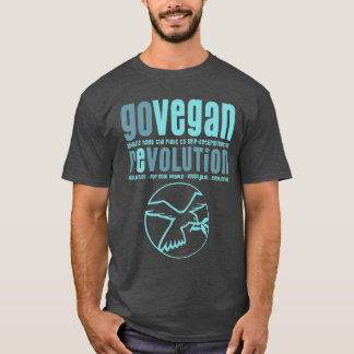 GO VEGAN REVOLUTION -15m T-Shirt