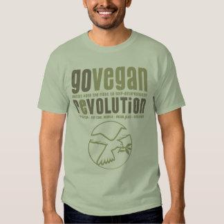 GO VEGAN REVOLUTION -17m Hemd