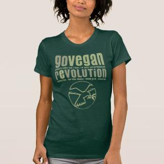 GO VEGAN REVOLUTION -17w Tshirt