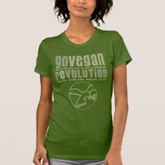 GO VEGAN REVOLUTION -18w T-shirt