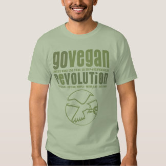 GO VEGAN REVOLUTION -20m Shirt